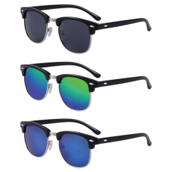 3 Clubmaster Sunglasses