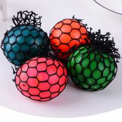 4x Mesh Squishy Ball