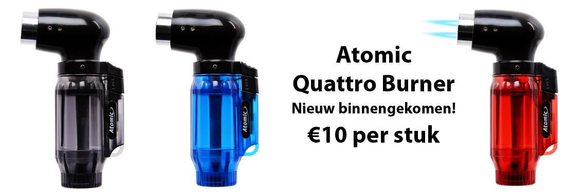 Atomic Quattro Burner
