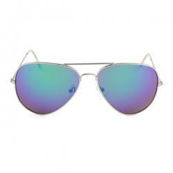 Aviator Pilotenbril Groen Blauw Spiegel