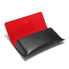 Brillenkoker Zwart Rood