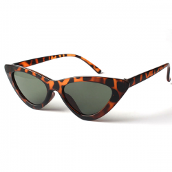 Cat Eye Sunglasses Leopard