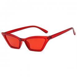 Cat Eye Sunglasses Red Small