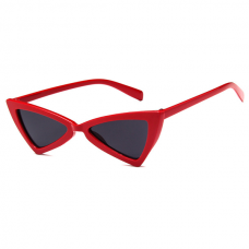 Cat Eye Zonnebril Triangle Rood