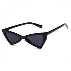 Cat Eye Zonnebril Triangle Zwart