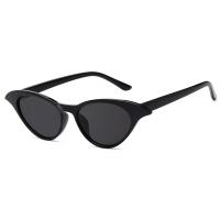 Cat Eye Sunglasses Black Butterfly