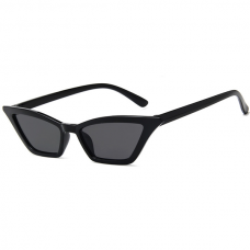 Cat Eye Sunglasses Black Small