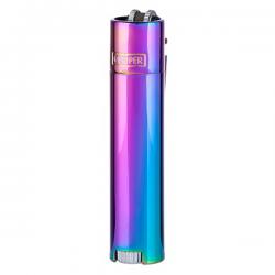 Clipper Aansteker Metal Rainbow