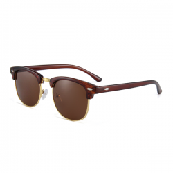 Clubmaster Brown