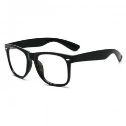 Computerbril - Anti Blauwlicht Bril - Wayfarer - Zwart