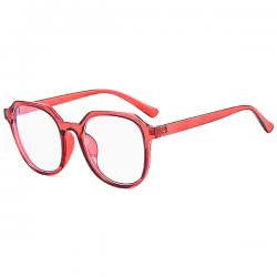 Computerbril - Anti Blauwlicht Bril - Retro Elton - Rood
