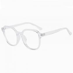 Computerbril - Anti Blauwlicht Bril - Retro Elton - Transparant