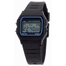 Digitaal Retro Horloge Zwart