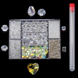 Sieraden Set - Kralen Set - Crystal - 2620 stuks