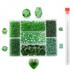 Sieraden Set - Kralen Set - Groen - 2620 stuks