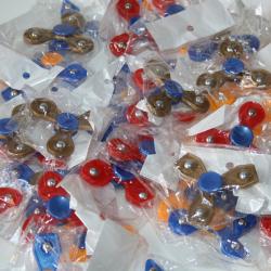 Fidget Spinners Mini (set van 10 stuks)