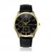 Geneva Herenhorloge Zwarte Wijzerplaat