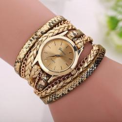 Geneva Horloge Armband Goud