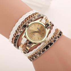Geneva Horloge Armband Wit