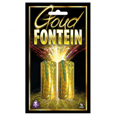 Goud Fontein (2 stuks)