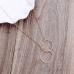 Gouden Ketting met twee ringen