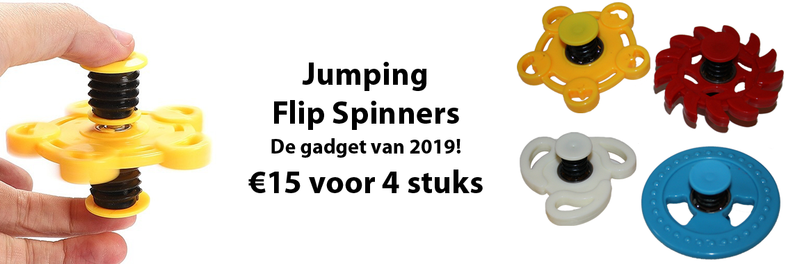 Jumping Flip Spinners