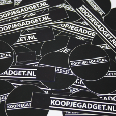 Koopjegadget Stickers