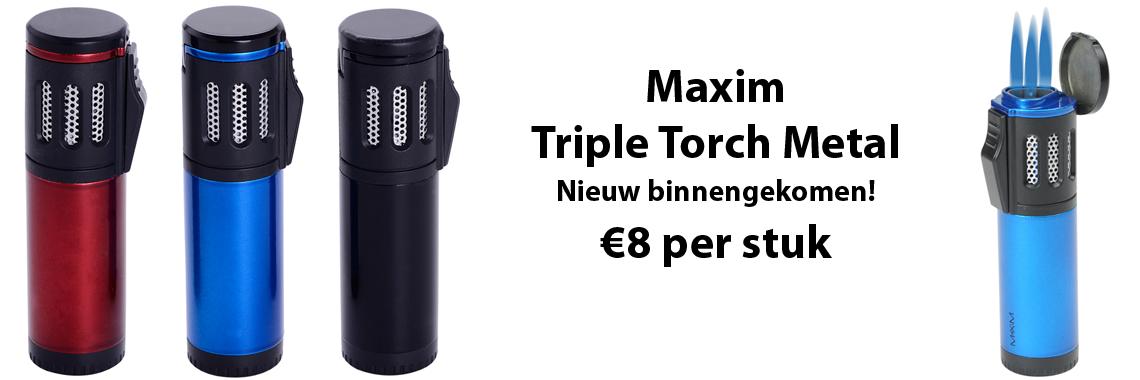 Maxim Triple Torch Metal