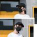 Face Mask Black - Washable - 5 pieces