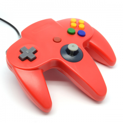 N64 Controller Rood