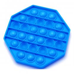 Pop It Fidget - Pop Bubble - Achthoek - Blauw