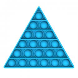 Pop It Fidget - Pop Bubble - Triangle - Blue