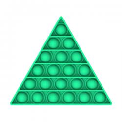 Pop It Fidget - Pop Bubble - Triangle - Green