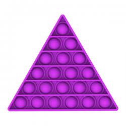 Pop It Fidget - Pop Bubble - Triangle - Purple
