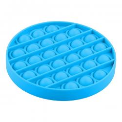 Pop It Fidget - Pop Bubble - Round - Blue
