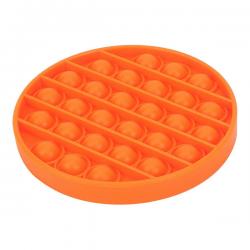 Pop It Fidget - Pop Bubble - Round - Orange