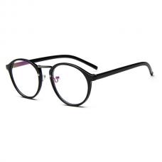 Retro Bril zonder sterkte Zwart