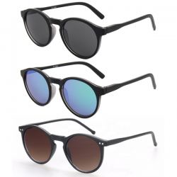 3 Round Sunglasses