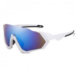 Sport Sunglasses Rocker White Blue