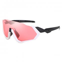 Sport Sunglasses Rocker White Red