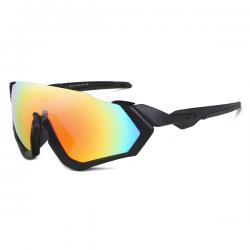 Sport Sunglasses Rocker Black Rainbow