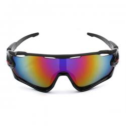 Sport Sunglasses Black Rainbow 2018