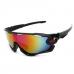 Sport Zonnebril Zwart Rainbow 2018