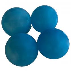 Sticky Balls - Glow in the Dark - Globbles - Blue - 4 pcs