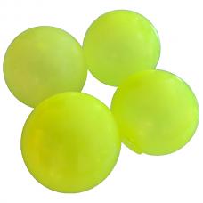 Sticky Balls - Glow in the Dark - Globbles - Yellow - 4 pcs