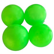 Sticky Balls - Glow in the Dark - Globbles - Green - 4 pcs