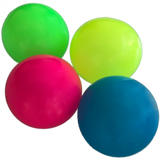 Sticky Balls - Glow in the Dark - Globbles - Mixed - 4 pcs