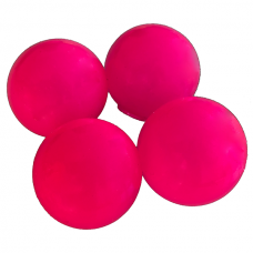 Sticky Balls - Glow in the Dark - Globbles - Roze - 4 stuks