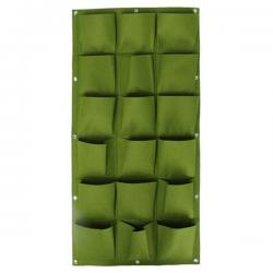 Verticale Tuin - Hangende Plantenzak - 18 Vakken - 50 x 100 cm - Groen