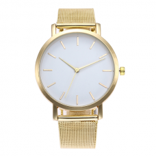 Vintage Mesh Horloge Goud